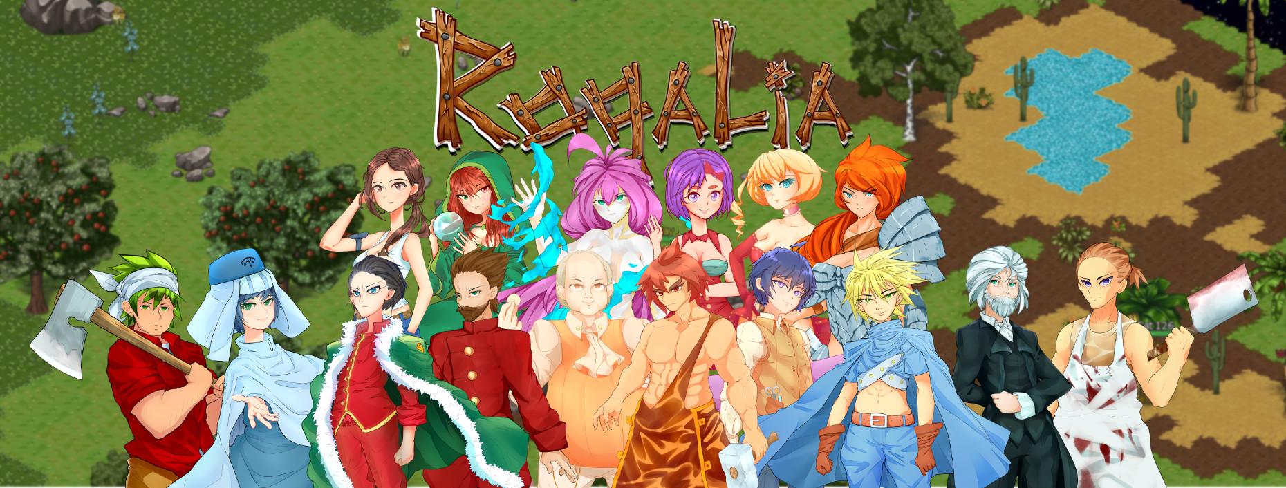 Все персонажи Рогалии